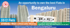 BDA Bangalore New Scheme 2016