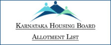 Karanatak Housing Board Allotment List